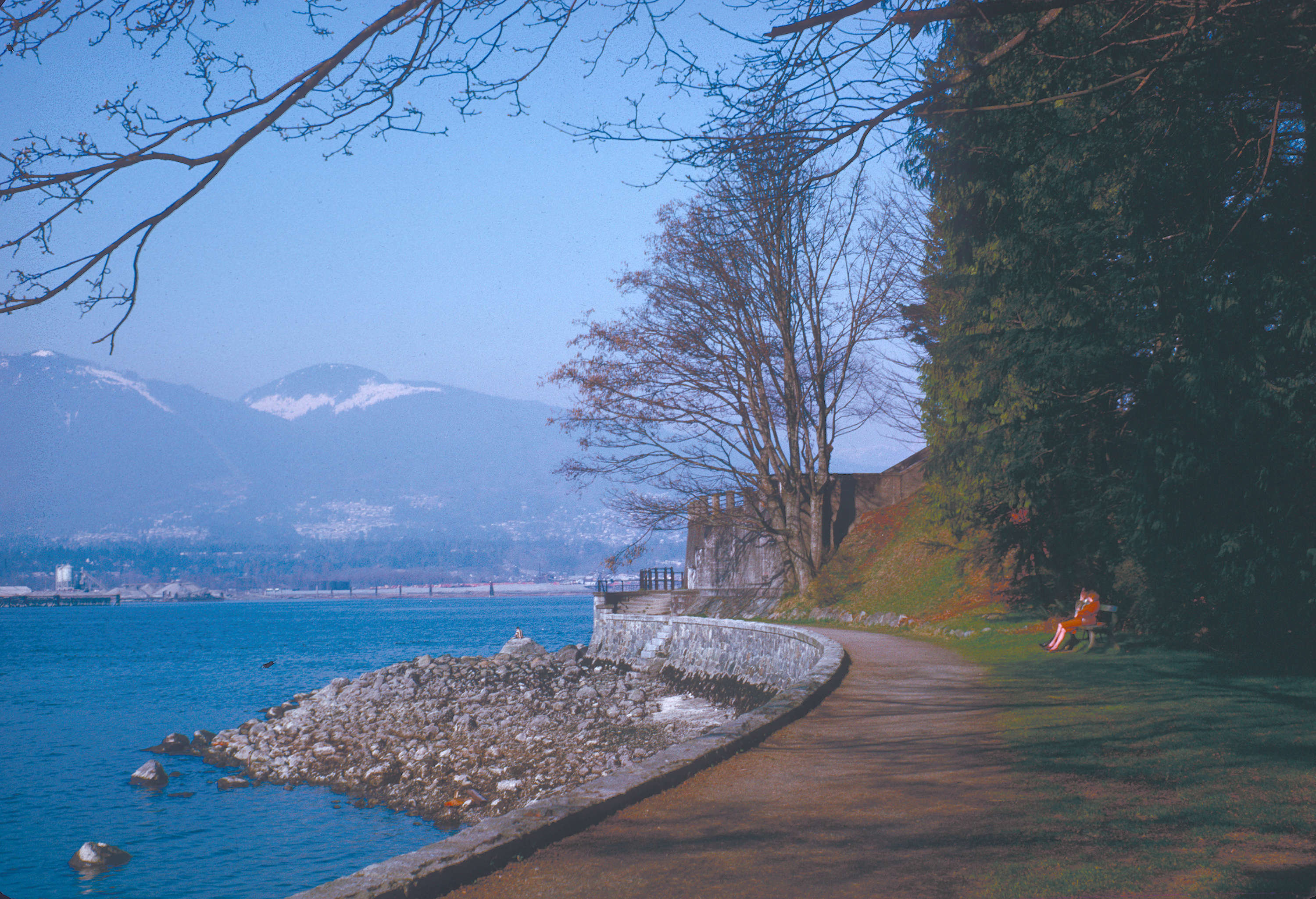 Gardens Canada Stanley Park Seawall City Of