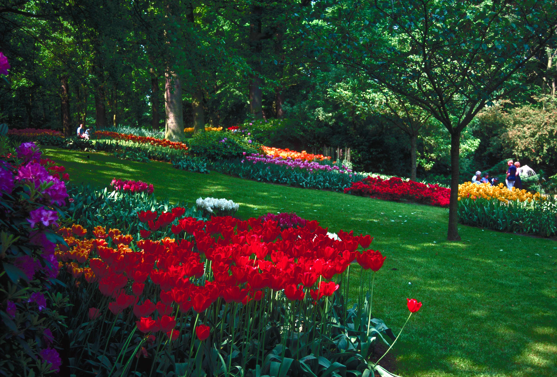 Gardens Europe Keukenhof City Of Vancouver Archives