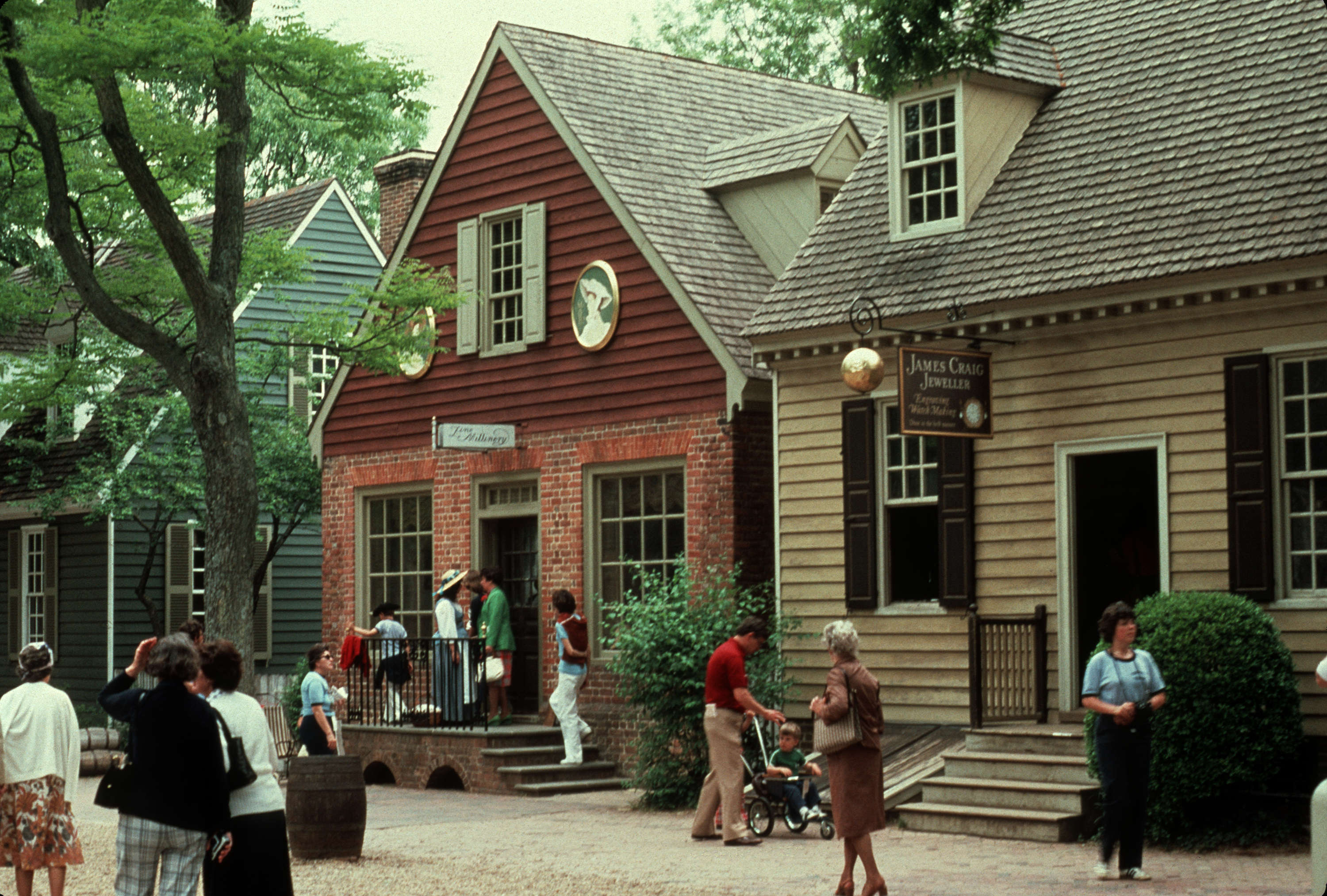 Gardens United States Colonial Williamsburg Va City Of Vancouver Archives