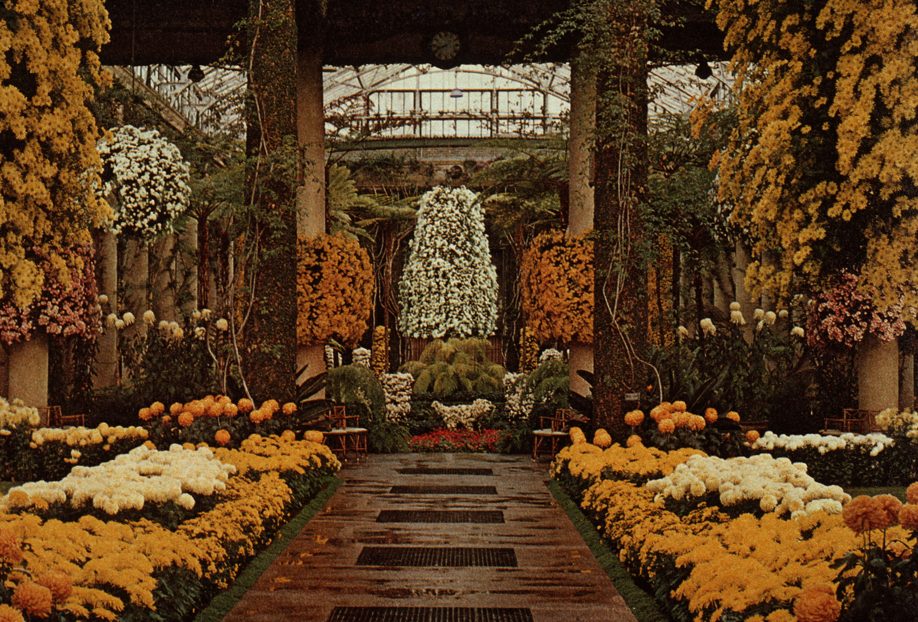 Gardens - United States : Longwood Gardens main conservatory - City ...