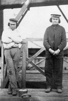 [Two unidentified First Nations men]