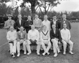 Brockton Point Cricket Club 1933 - Winners of Mainland League and Fife-Smith Shield