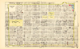 Sheet K : Wallace Street to Trafalgar Street and Twenty-seventh Street to Thirty-eighth Avenue