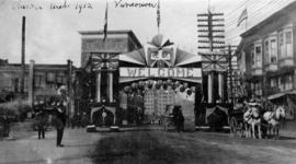 Chinese Arch 1912 Vancouver