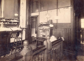 [Office of The Telegram Newspaper at 321 Cambie Street]