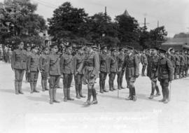 Inspection by H.R.H. Prince Arthur of Connaught Vancouver, B.C.