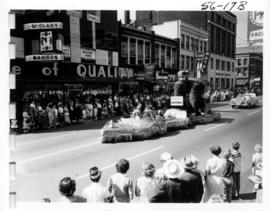 Canadian Forestry Association float in 1956 P.N.E. Opening Day Parade