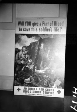 [American Red Cross blood donor service advertisement]