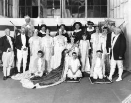 Local dignitaries and others in the cast of a Shakespeare play