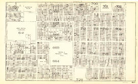 Sheet S.V. 7 : Prince Edward Street to Argyle Street and Thirty-fifth Avenue to Forty-seventh Avenue