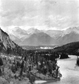 [View of the Bow River at Banff]