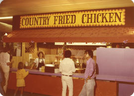 Country Fried Chicken concession stand