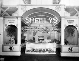 Shellys display of 4X brand bakery products