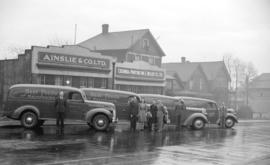[Exterior view of Ainslie & Co. Ltd. with delivery truck in front]