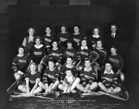 Pirates Lacrosse Club - B.C. Junior Champions 1934 Winners George Snider Cup