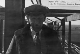 J.T. Simpson, construction engineer