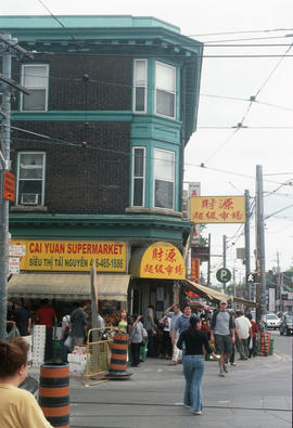 Cai Yuan Supermarket on Broadview Avenue in Toronto East Chinatown