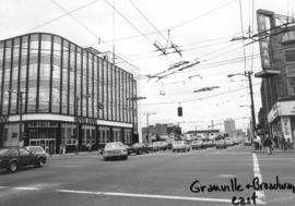 Granville [Street] and Broadway [looking] east