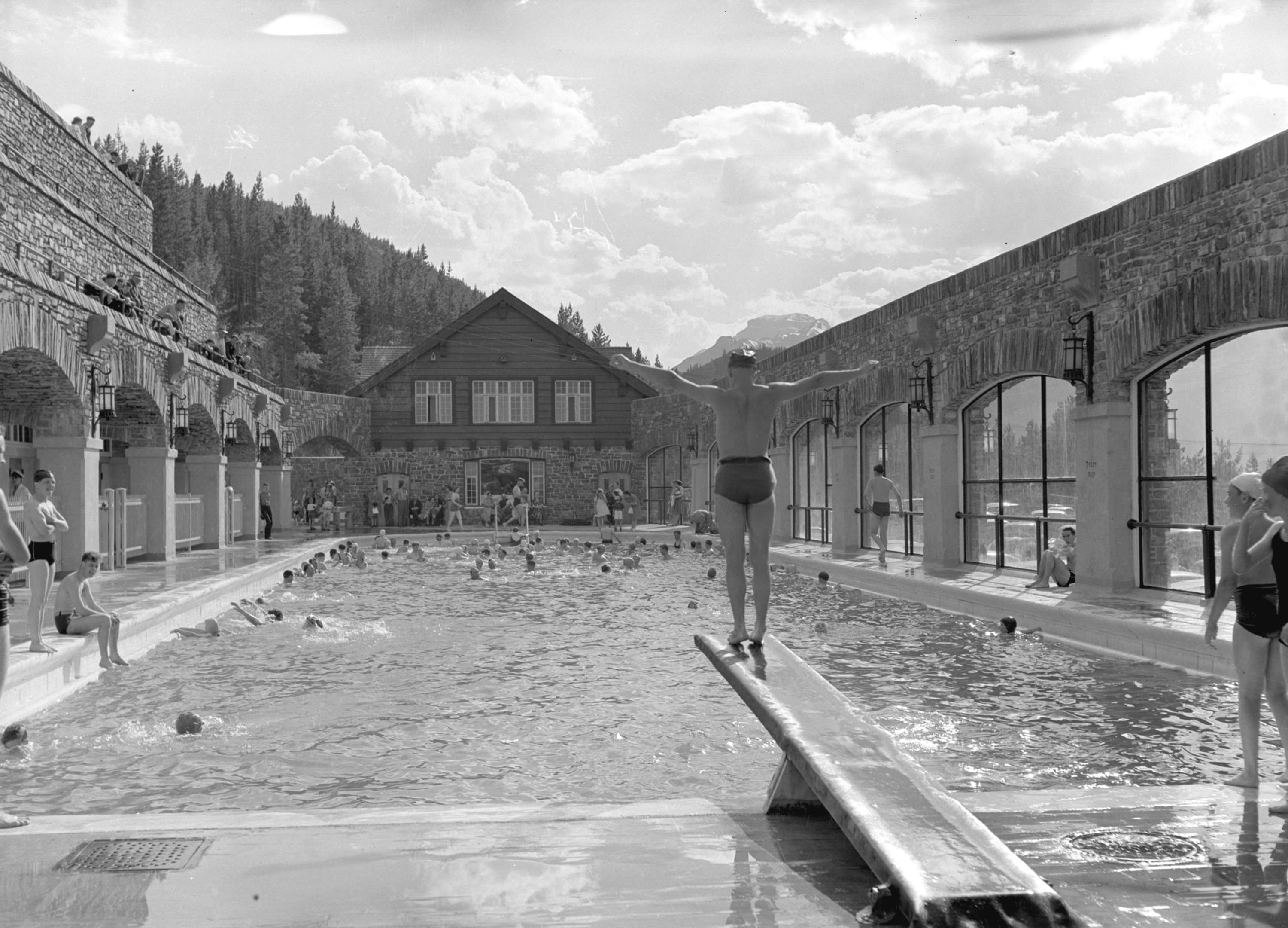 The basin swimming pool in banff city of vancouver archives for City of vancouver swimming pools