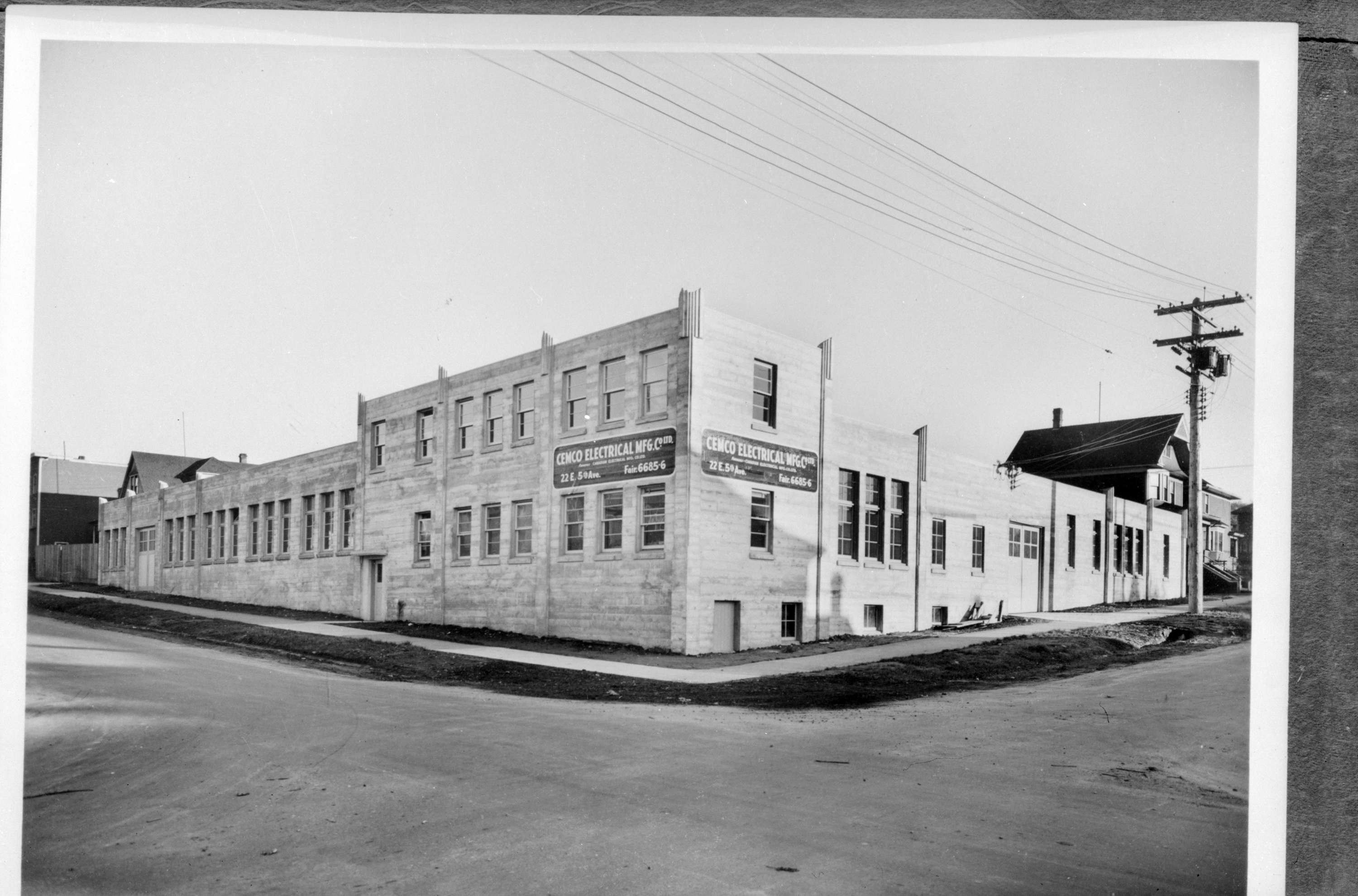 Cemco Electric[al Manufacturing Company building at 22 East 5th ...
