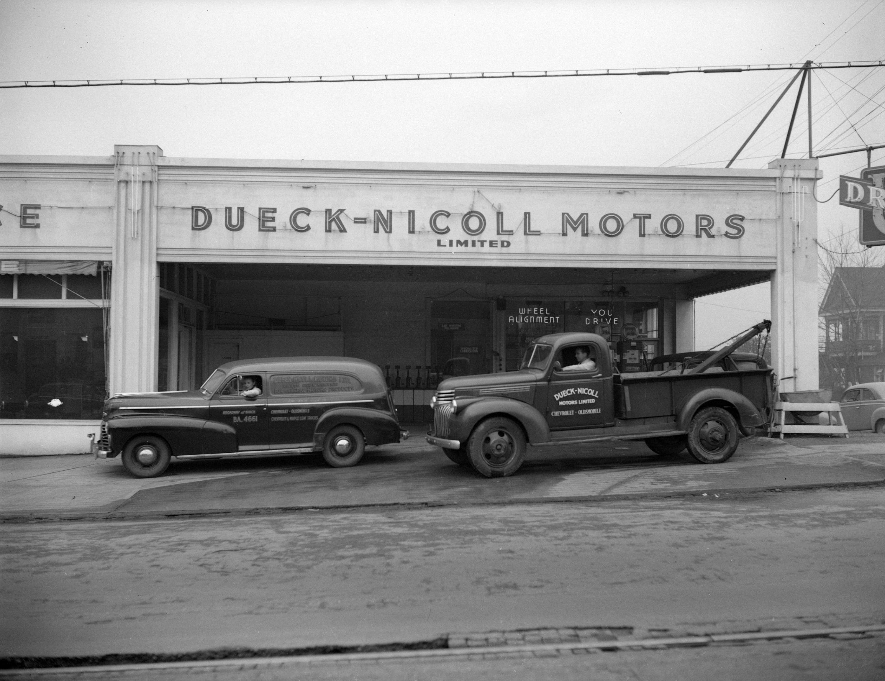 Dueck Nicoll Motors At 1305 West Broadway City Of
