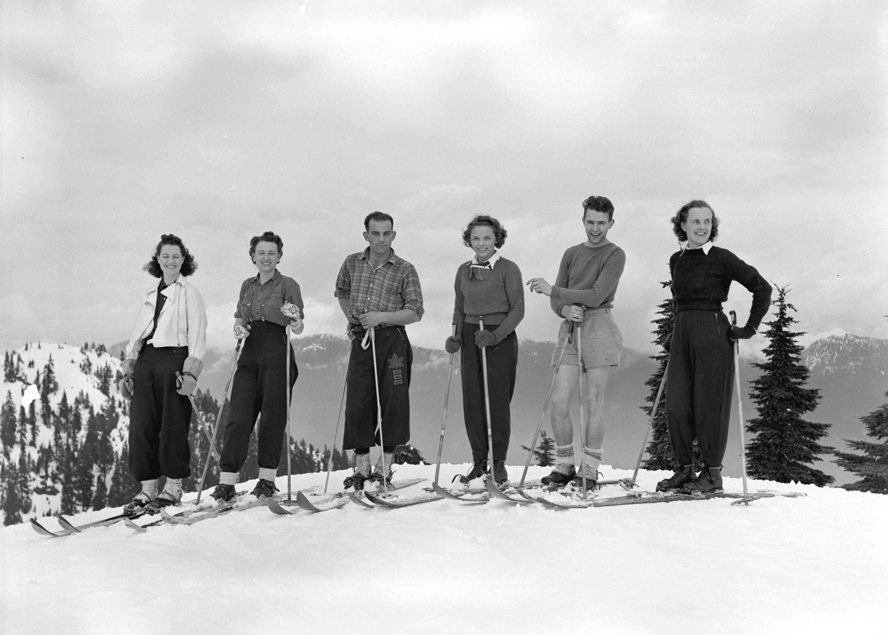 10 Vintage Ski Photos From Local Vancouver Mountains
