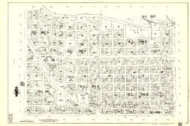 [Sheet 32 : Main Street to Clark Drive and Sixteenth Avenue to Great Northern Way]