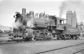 [Vancouver Harbour Commissioners Terminal Railway Steam Engine #202]