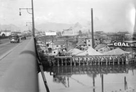 Granville Island [showing] Langley's roof