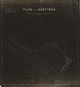 Plan of Hastings
