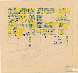 Age of buildings : Main Street to Knight Street and 57th Avenue to Kent Avenue