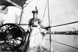 Miss Johnstone [on board ship]
