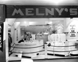 Melny's home appliances display booth