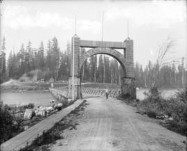 [Arch at entrance to Stanley Park]