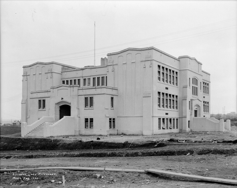 Sir Matthew Begbie School at] Lillooet and Kitchener - City of ...