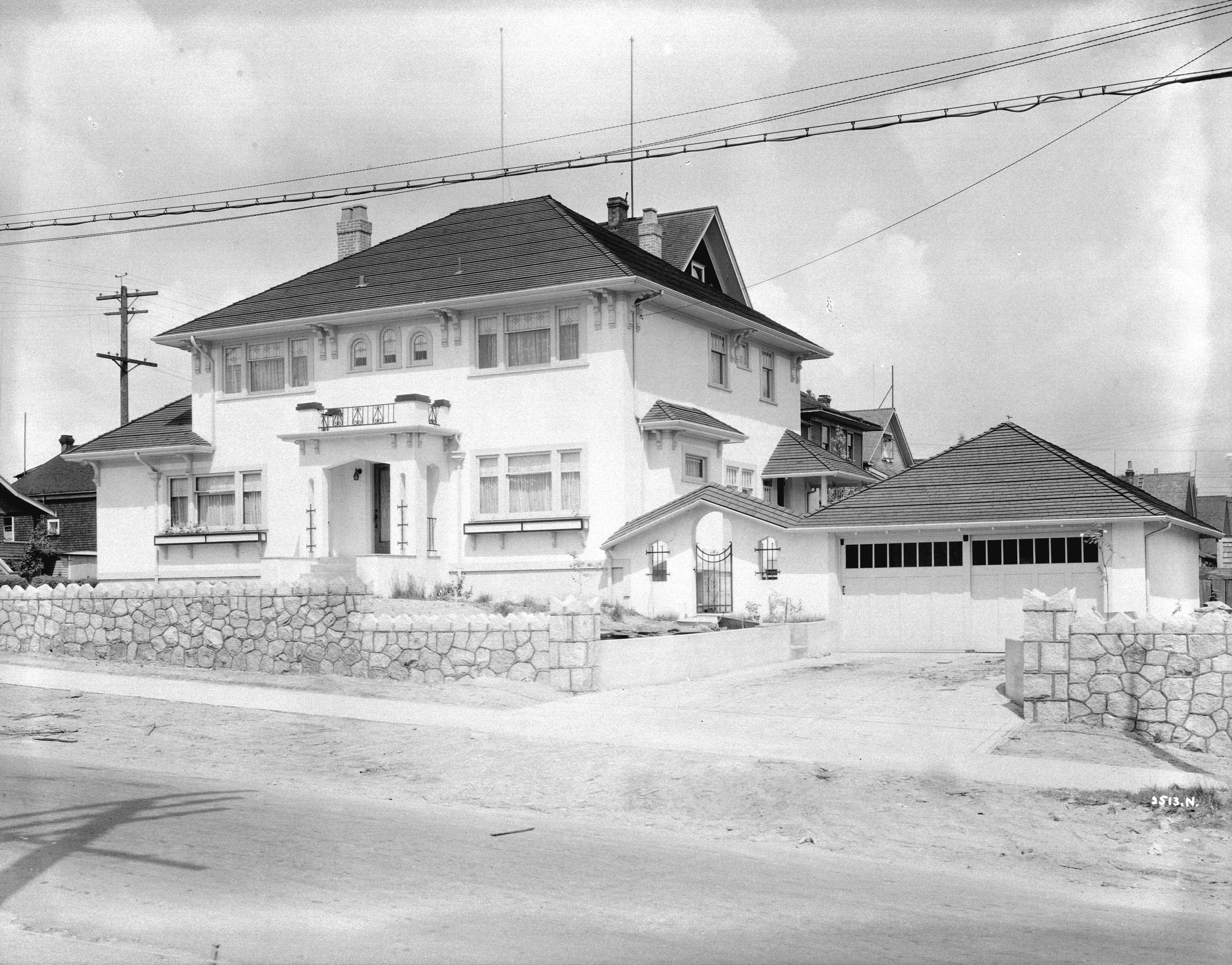 Dr. Foster\'s residence [2111 Kitchener Street] in Grandview District ...