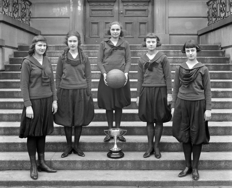 king george junior basketball team winners of wilson cup 1920