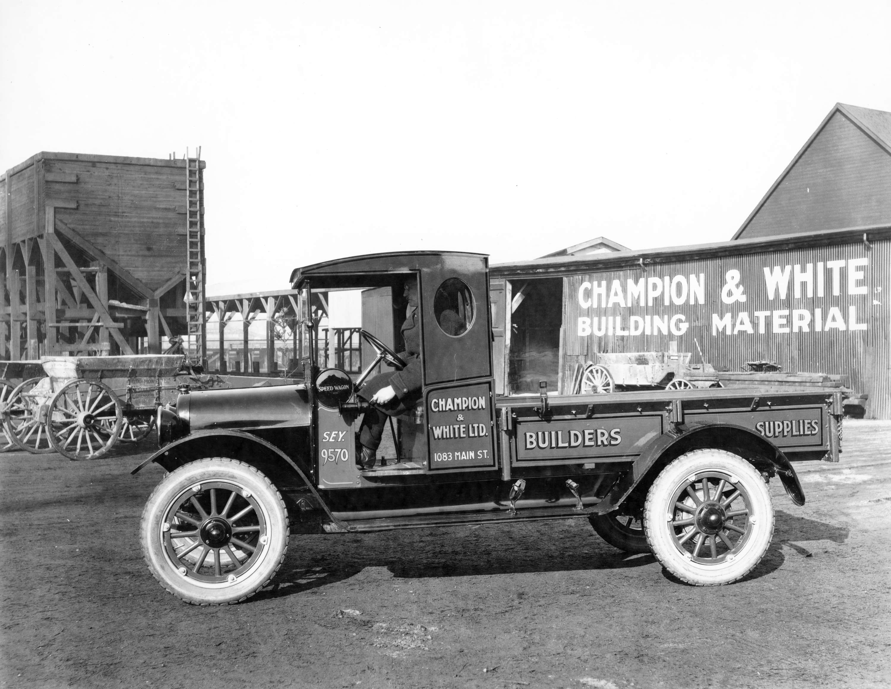 Champion Ford Reo >> Truck Reo Champion And White Ltd Builders Supplies City