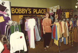 Bobby's Place display booth (clothing)