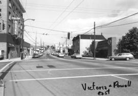 Victoria [Drive] and Powell [Street looking] east