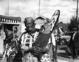 Kootenay Indians at [Vancouver] Exhibition