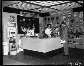 Canadian General Electric display of household appliances