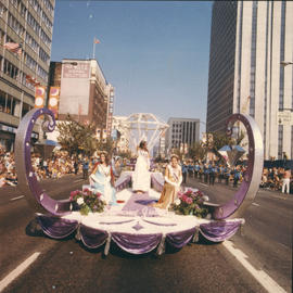 Float in 1970 P.N.E. Opening Day Parade