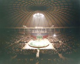 Moscow Circus 1963/64 Dec/Jan 5 : [performance in Agrodome]