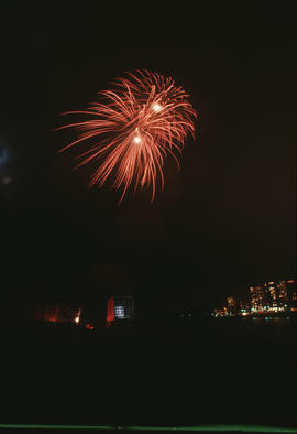 Vancouver's 99th birthday Firework display
