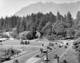 [View of Stanley Park causeway]
