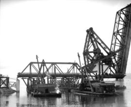 Second Narrows Bridge, repairs to span