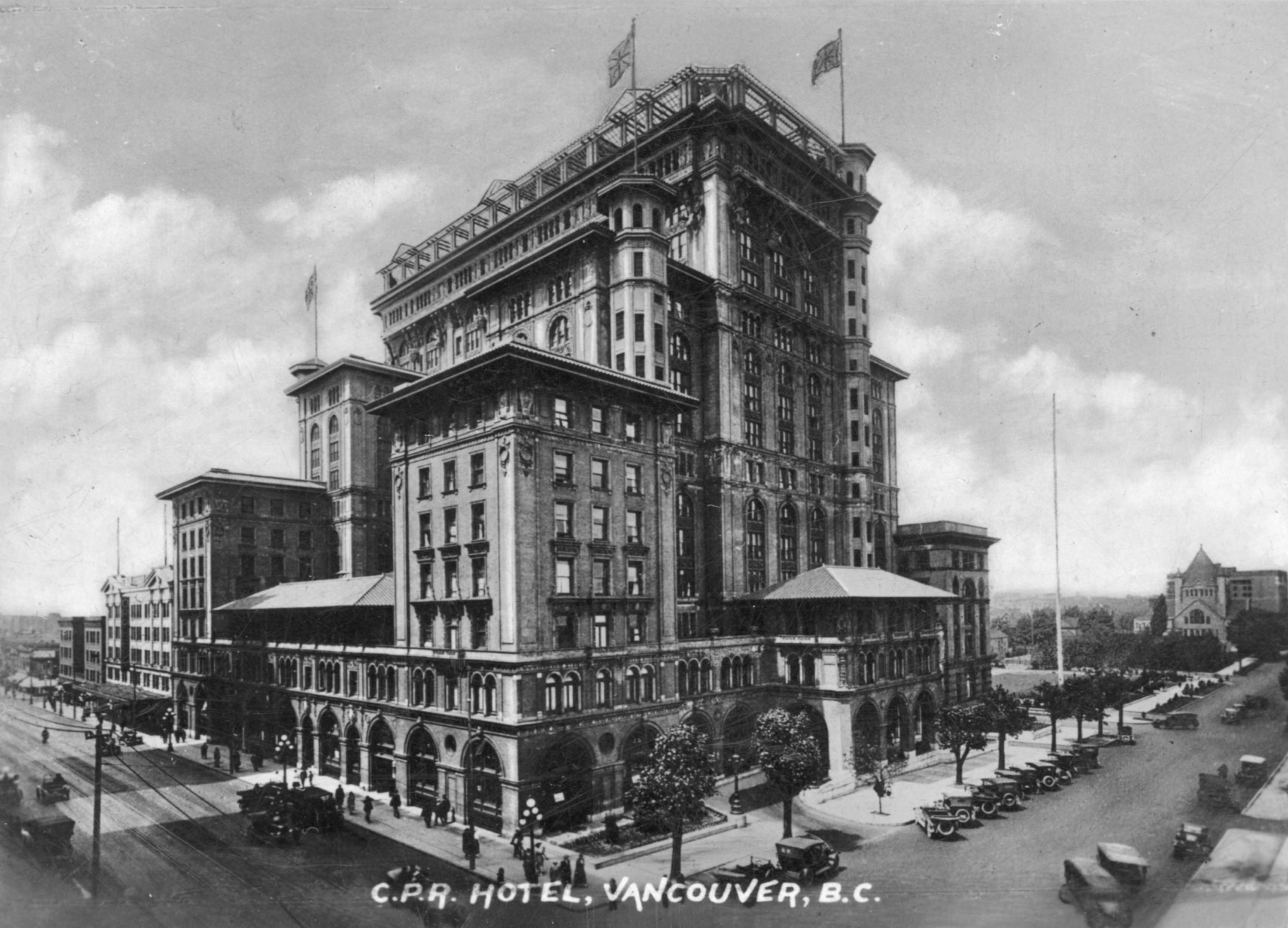 C p r hotel vancouver bc city of vancouver archives open original digital object xflitez Image collections