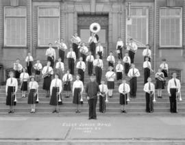 Elgar Junior Band Vancouver, B.C. 1935