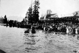 [Baptism performed by the Reverends Christmas and Fair in English Bay]